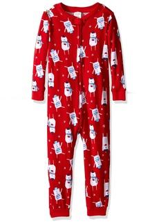 Gymboree Baby Girls' Patterned One-Piece Pajamas  18-24 MO