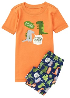 Gymboree Big Boys' 2-Piece Pajama Short Set