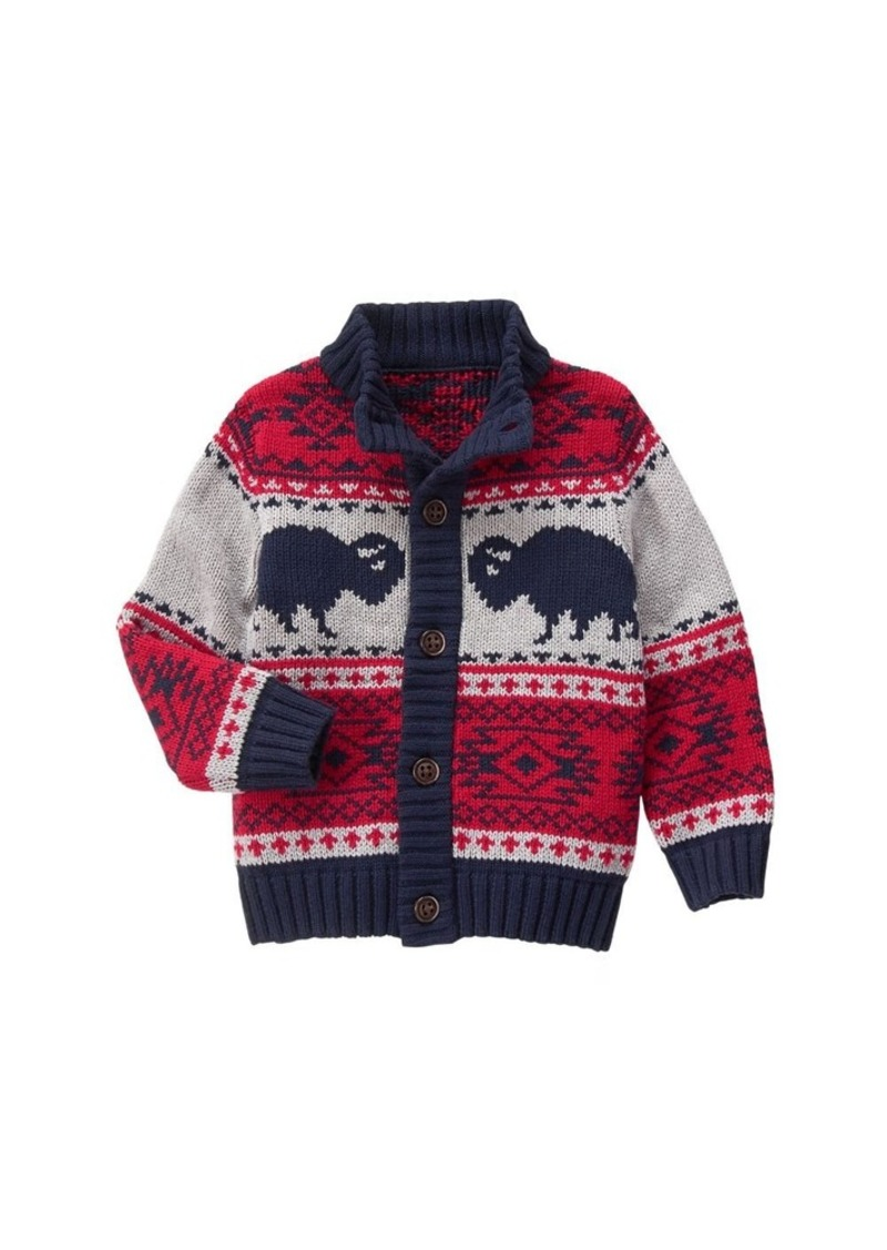 Big Boys\u0027 Buffalo Cardigan Multi XS