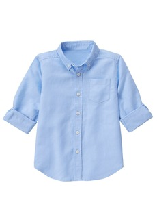 Gymboree Big Boys' Linen Woven Top  M