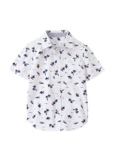 Gymboree Big Boys' Novelty Print Shirt  L