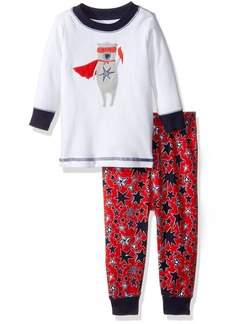 Gymboree Big Boys' Patterned Tight-Fit Pajamas