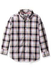 Gymboree Big Boys' Plaid Woven Shirt  XS