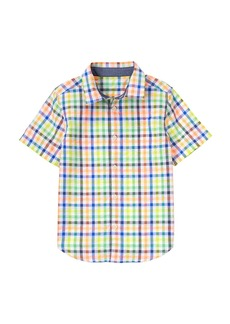 Gymboree Boys' Big Seersucker Shirt Multi XS