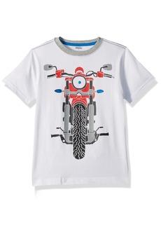 Gymboree Big Boys' Short Sleeve Moto Tee
