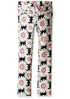 Gymboree Big Girls' Daisy Print Ponte Pant