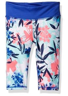Gymboree Big Girls' Floral Cropped Active Legging  XS