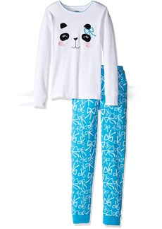 Gymboree Girls' Graphic Icon Tight-Fit Pajamas2T