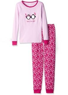 Gymboree Big Girls Graphic Tight-Fit Pajamas - size