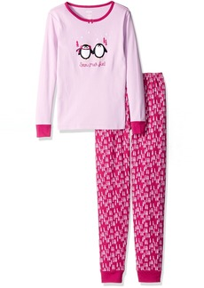 Gymboree Big Girls Graphic Tight-Fit Pajamas - size  18-24