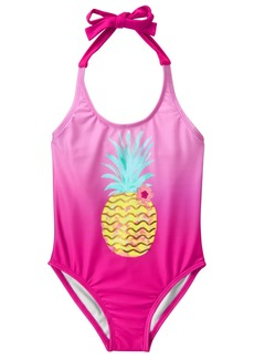 Gymboree Big Girls' Halter Onepiece with Pineapple  XS