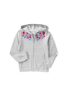 Gymboree Girls' Big Hooded Sweater  XS