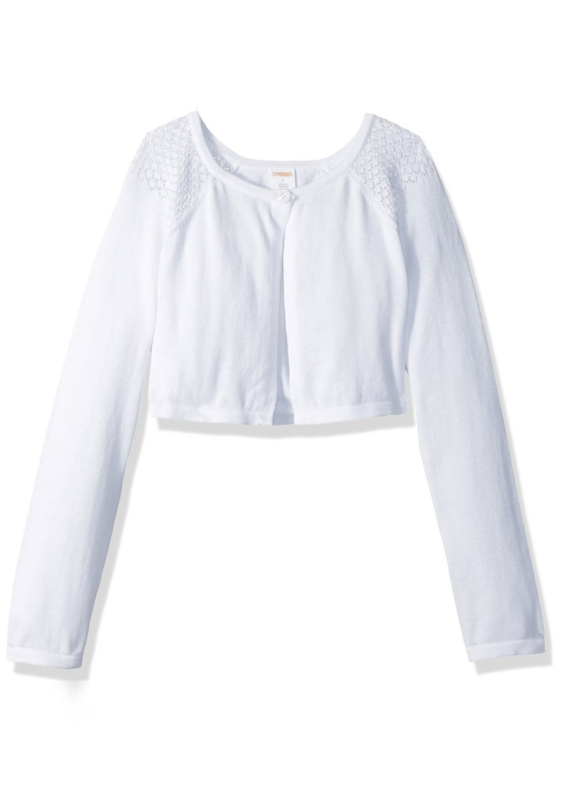 Gymboree Gymboree Big Girls' Long Sleeve Cardigan Sweater ...