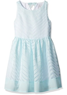 Gymboree Big Girls' Mint Chevron Dress Multi