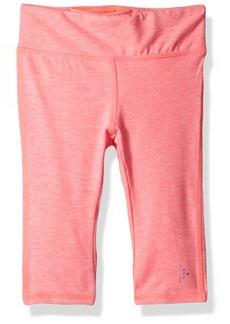 Gymboree Big Girls' Pink Cropped Active Legging  M