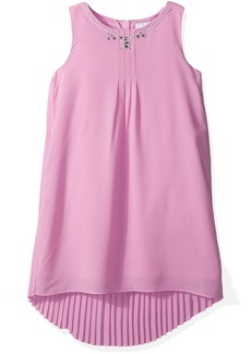 Gymboree Girls' Big Pleated Shift Dress