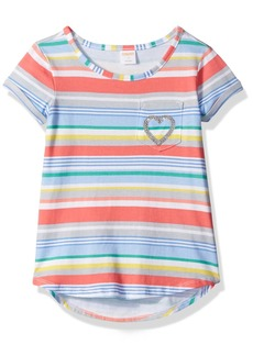 Gymboree Big Girls' Short Sleeve Slub Knit Tee