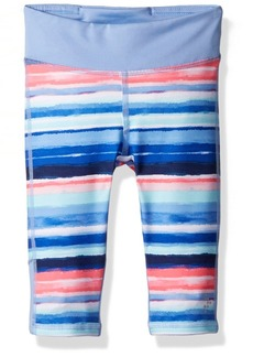 Gymboree Big Girls' Stripe Cropped Active Legging  XS