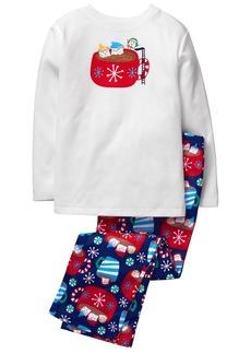 Gymboree Boys' 2 Piece Pajama Set  M