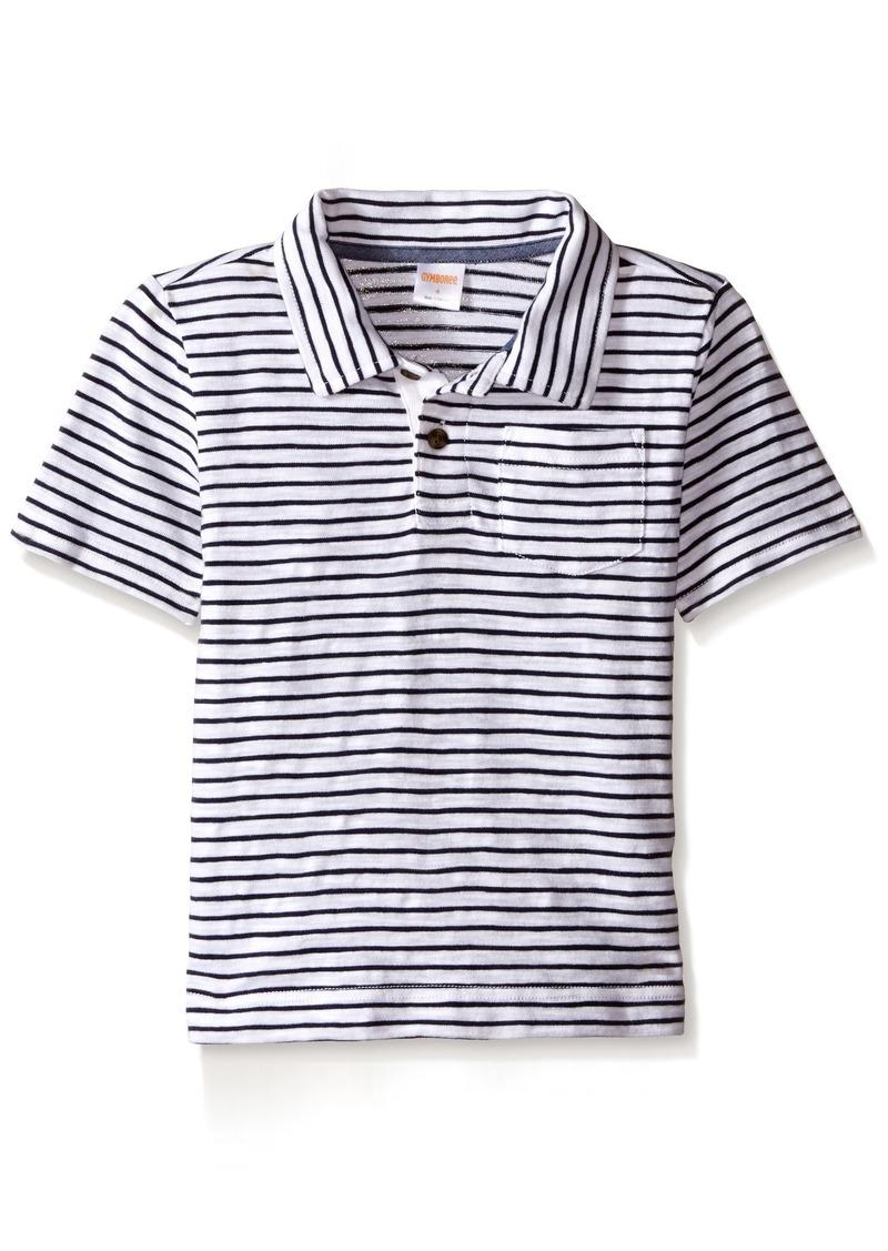 91c13b2b3 Gymboree Gymboree Big Boys' Micro-Striped Short Sleeve Polo Shirt ...