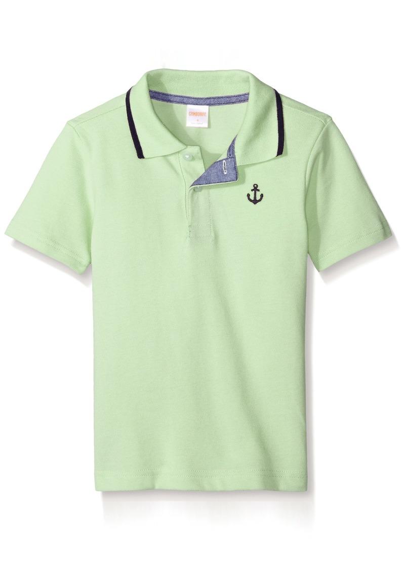 076f6baed Gymboree Gymboree Little Boys' Polo Shirt Melon puree Now $8.61