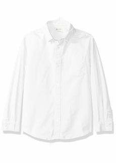 Gymboree Boys' Big Long Sleeve Button Down Uniform Shirt  L