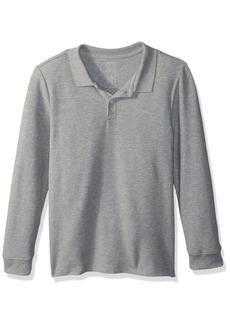 Gymboree Boys' Big Long Sleeve Pique Uniform Polo  XL