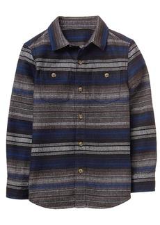 Gymboree Boys' Flannel Button up Shirt  L