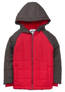 Gymboree Boys' Little Colorblock Jacket RED S