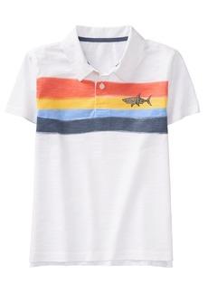 Gymboree Boys' Little Short Sleeve Polo Shirt  XL