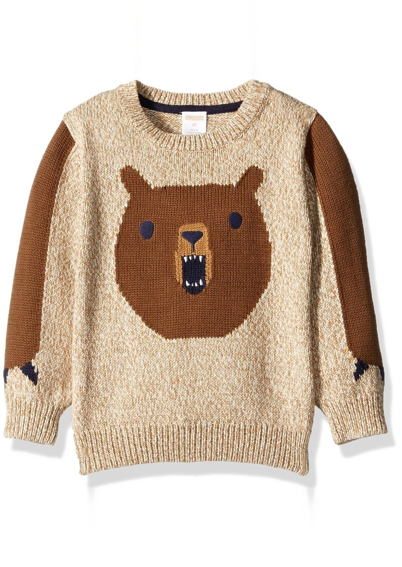Gymboree Boys' Toddler Boys' Bear Sweater