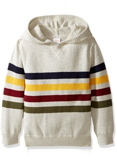 Gymboree Toddler Boys' Multi Stripe Hooded Sweater  S
