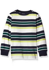 Gymboree Little Boys' Toddler Yarn-Dyed Stripe Tee