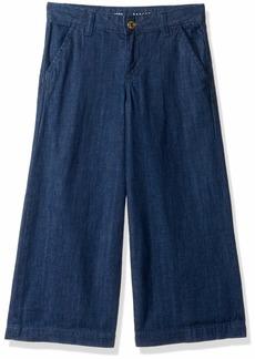 Gymboree Girls' Big Culotte Pants Denim wash