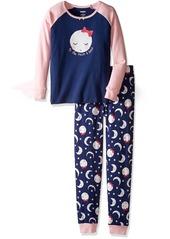 Gymboree Big Girls' 2-Piece Tight Fit Raglan Pajamas