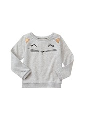 Gymboree Big Girls' 3D Graphic Sweatshirt  XS