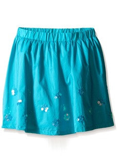 Gymboree Big Girls' Aqua Paillette Skirt