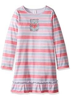 Gymboree Big Girls' Bear Stripe Nightgown  S