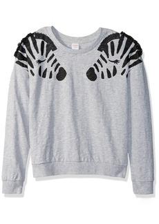 Gymboree Girls' Big Long Sleeve Crew Neck Sweater  M
