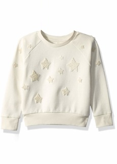 Gymboree Girls' Big Long Sleeve Pullover Sweater  XS