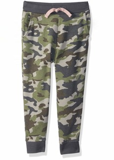 Gymboree Girls' Big Relaxed Fit Joggers camo L