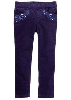 Gymboree Girls' Little Printed Cord Pant