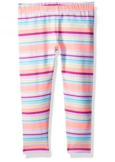 Gymboree Girls' Little Printed Knee Length Legging  XS