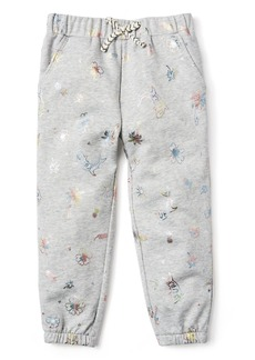 Gymboree Girls' Little Pull-On Joggers
