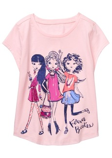 Gymboree Girls' Little Short Sleeve Graphic Tee  XL