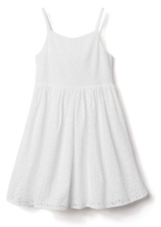 Gymboree Girls' Little Sleveless Eyelet Dress