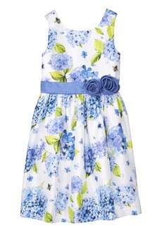 Gymboree Girls' Little Sleveless Floral Print Dress
