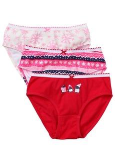 Gymboree Girls' Little Underwear (Pack of 3)  L