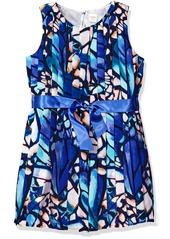 Gymboree Little Girls' Butterfly Abstract Print Dress Multi