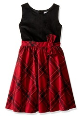 Gymboree Toddler Girls' Red Plaid Dress Multi